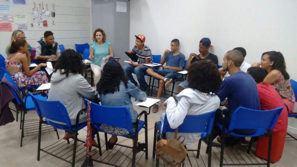 Atividades do Espaço de Cidadania Brasília (Taguatinga)/DF