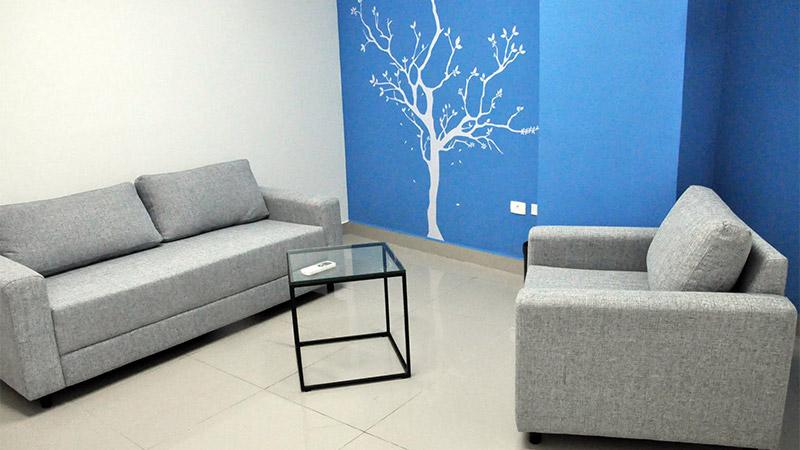 Sala do Espaço de Cidadania São Paulo/SP