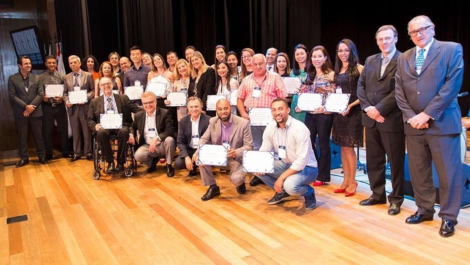 Entrega do Prêmio Melhores Programas de Estágio 2017