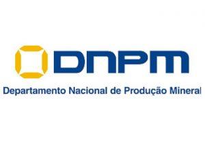 Logotipo do Departamento Nacional de Produção Mineral - DNPM