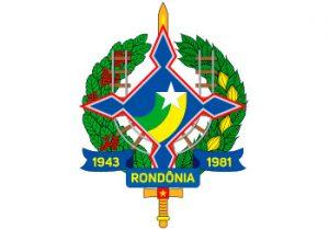 Brasão do Governo do Estado de Rondônia - RO