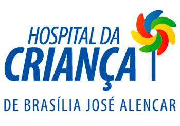Logo Hospital da Criança de Brasília José Alencar - HCB