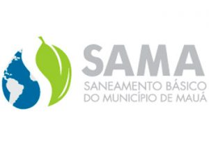 Logotipo Saneamento Básico do Município de Mauá - SAMA