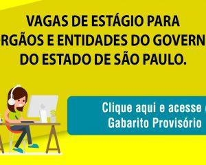 Banner Gabarito Governo de São Paulo