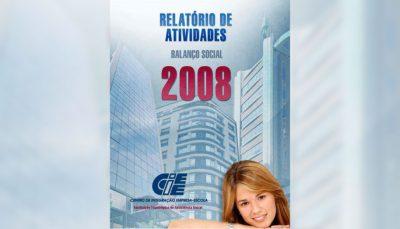 Balanço social do CIEE de 2008