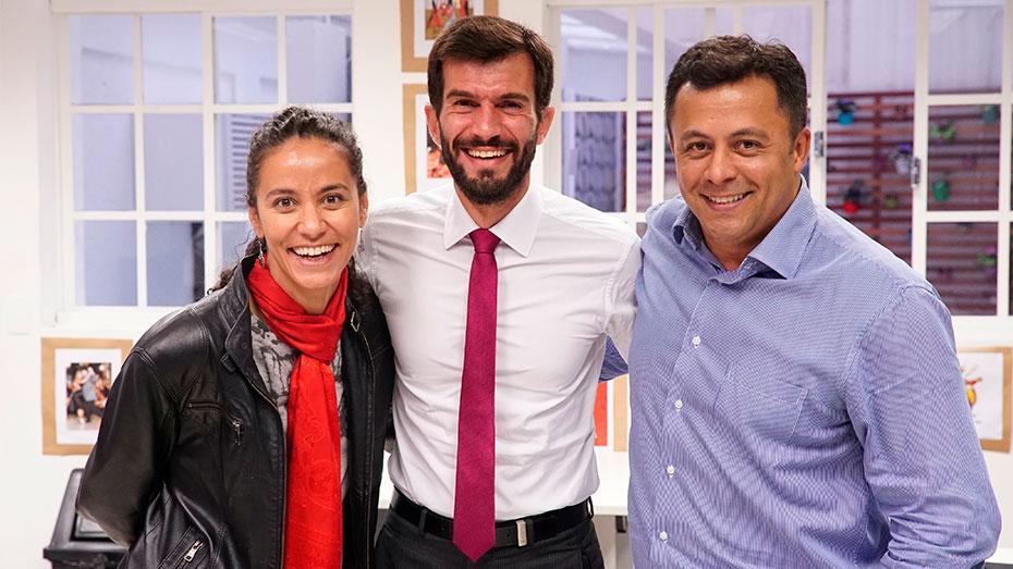 Lançamento do programa Trampo Justo no Espaço de Cidadania: Luana Bottini, Iberê Dias e Luiz Douglas de Souza