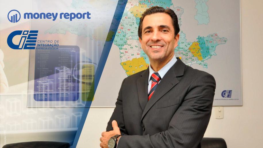 Capa do Money Report com Luiz Gustavo Coppola