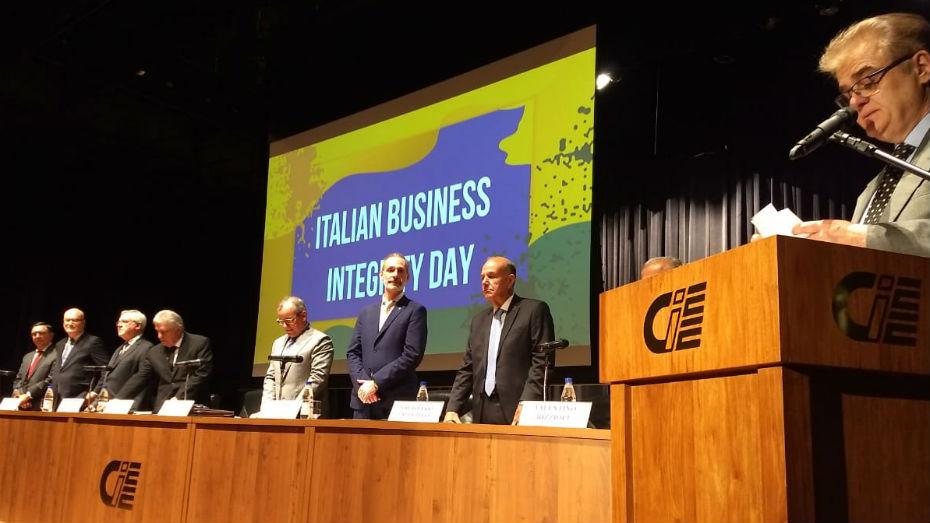 Dia Italiano da Integridade Empresarial 2018 no CIEE
