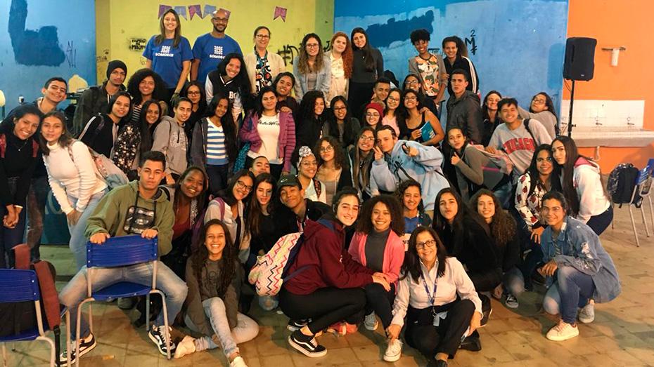 CIEE apoia o Banco Itaú em workshop com jovens estudantes
