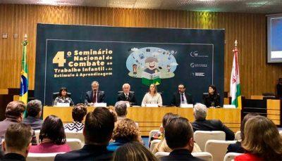 CIEE participa 4º Seminário Nacional de Combate ao Trabalho Infantil e de Estímulo à Aprendizagem