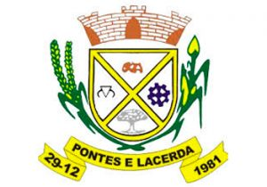 Logotipo da Prefeitura de Pontes e Lacerda