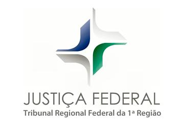 Logotipo do Tribunal Regional Federal da 1ª Região