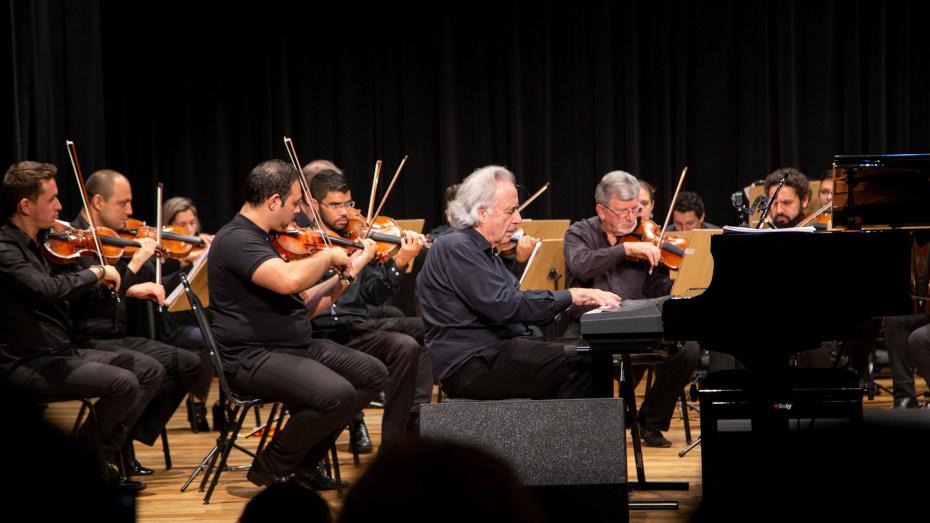 Teatro CIEE foi a primeira casa da orquestra quando o maestro começou a reger.