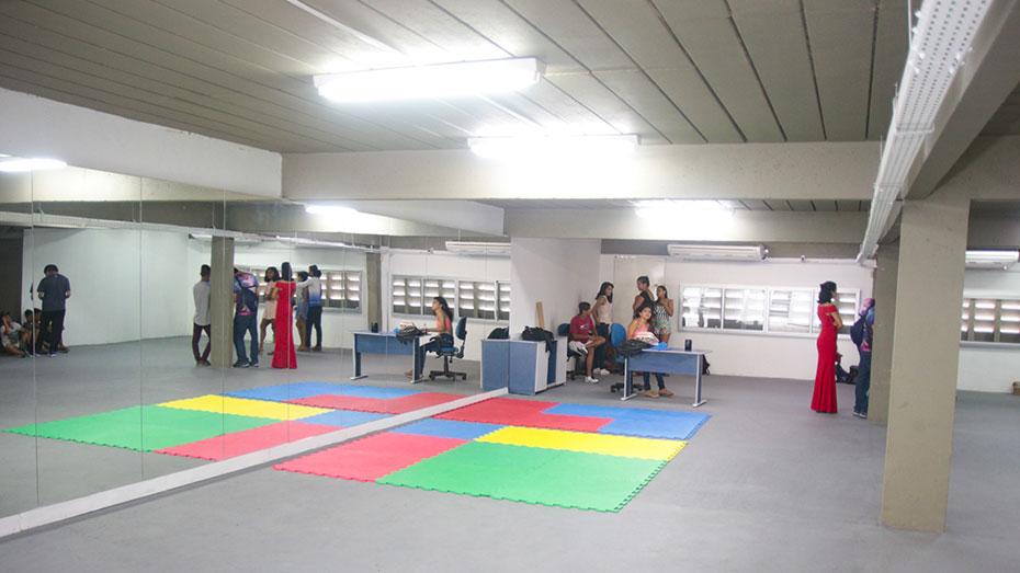 Ambiente do Espaço de Cidadania Manaus (AM)