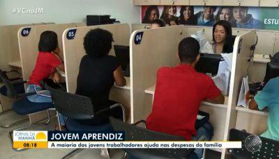 Benefícios da aprendizagem são destaque em reportagem da TV Bahia