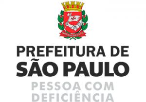 Logo da Prefeitura de São Paulo - Pessoas com Deficiência
