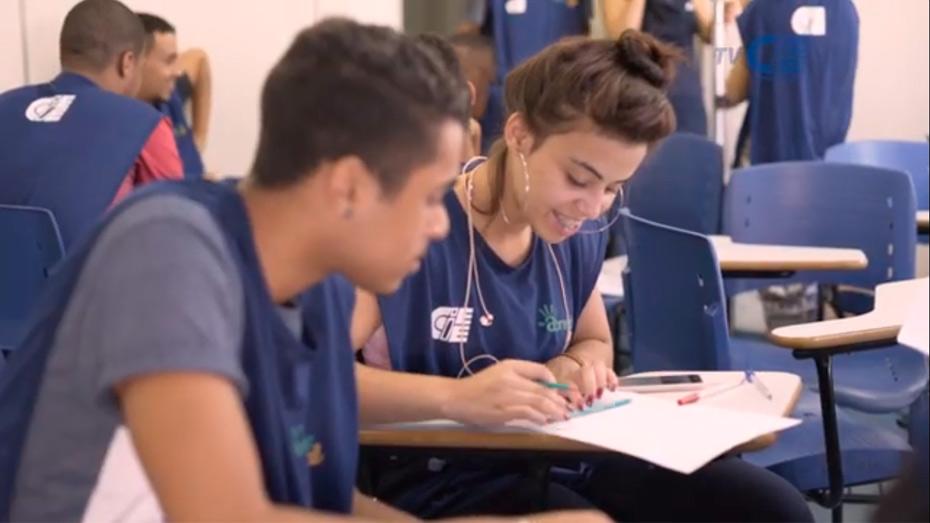 Aprendizagem estimula protagonismo de jovens e adolescentes.