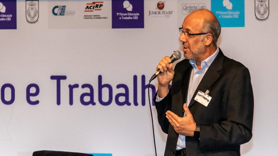 Guilherme Cavalieri, presidente da diretoria executiva da Associação Brasileira de Recursos Humanos - Seccional São Paulo (ABRH-SP).