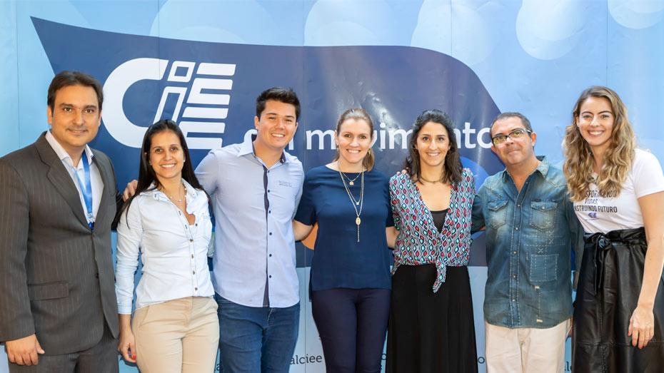 Participantes do primeiro painel do Fórum Educação e Trabalho CIEE.