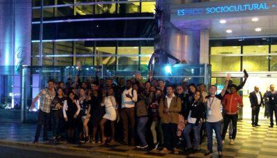 Jovens foram convidados para assistir apresentação da Orquestra Bachiana Filarmônica SESI-SP