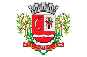 Brasão da prefeitura municipal de potim