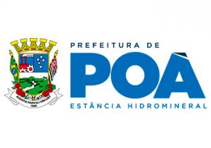 Logotipo da Prefeitura da Estância Hidromineral de Poá