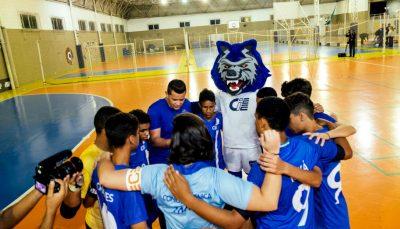 Equipe de futebol do polo ciee Santo Amaro
