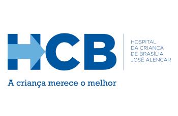 Logotipo Hospital da Criança de Brasília José Alencar - HCB