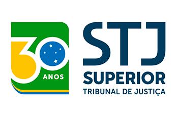 Logotipo do Superior Tribunal de Justiça - 30 anos