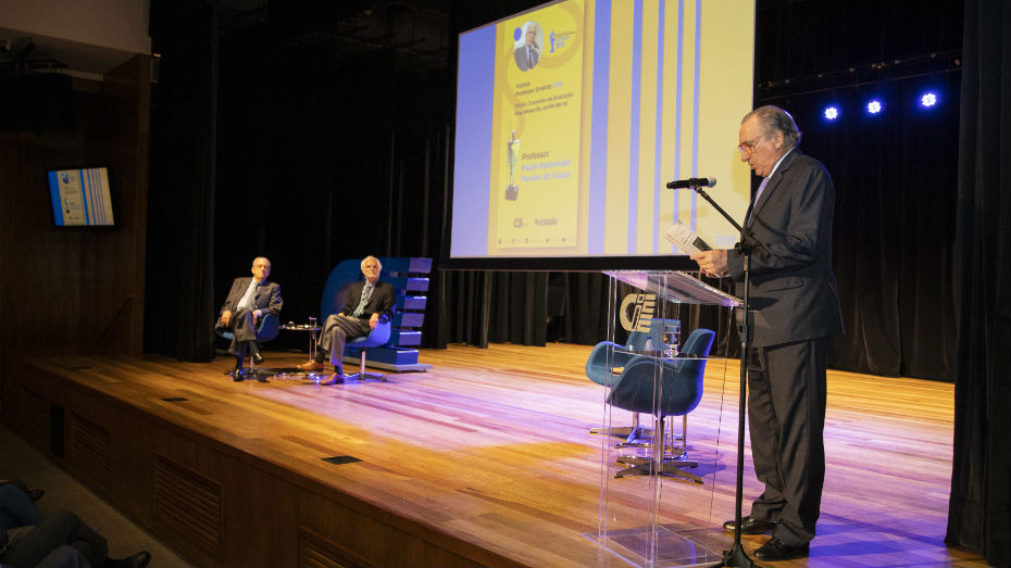 Apresentação do 23° edição do Prêmio Professor Emérito