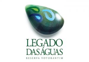 Logo legado das águas do grupo Votorantim