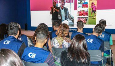Johnson Macaba realiza palestra no Allianz Parque