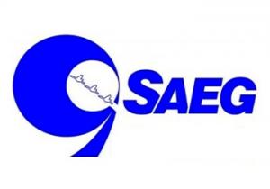 Logotipo da Companhia Serviço de Água, Esgoto e Resíduos de Guaratinguetá (SAEG)