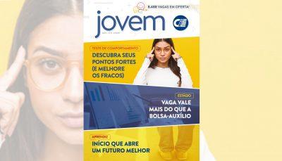 Capa da Revista Jovem CIEE 37