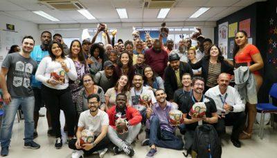 Atividade marca encerramento do ano no Espaço de Cidadania da Xavier de Toledo, em São Paulo