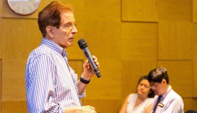 Luiz Edmundo Rosa, diretor da ABRH-Brasil e um dos coordenadores do Fórum Nacional de Saúde Corporativa
