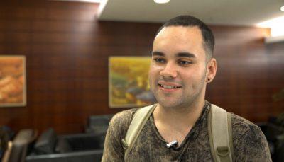 Jovem Daniel de Carvalho é um dos bolsistas