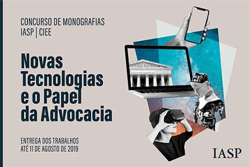 Concurso de Monografias Jurídicas - Vencedores(as) 2019