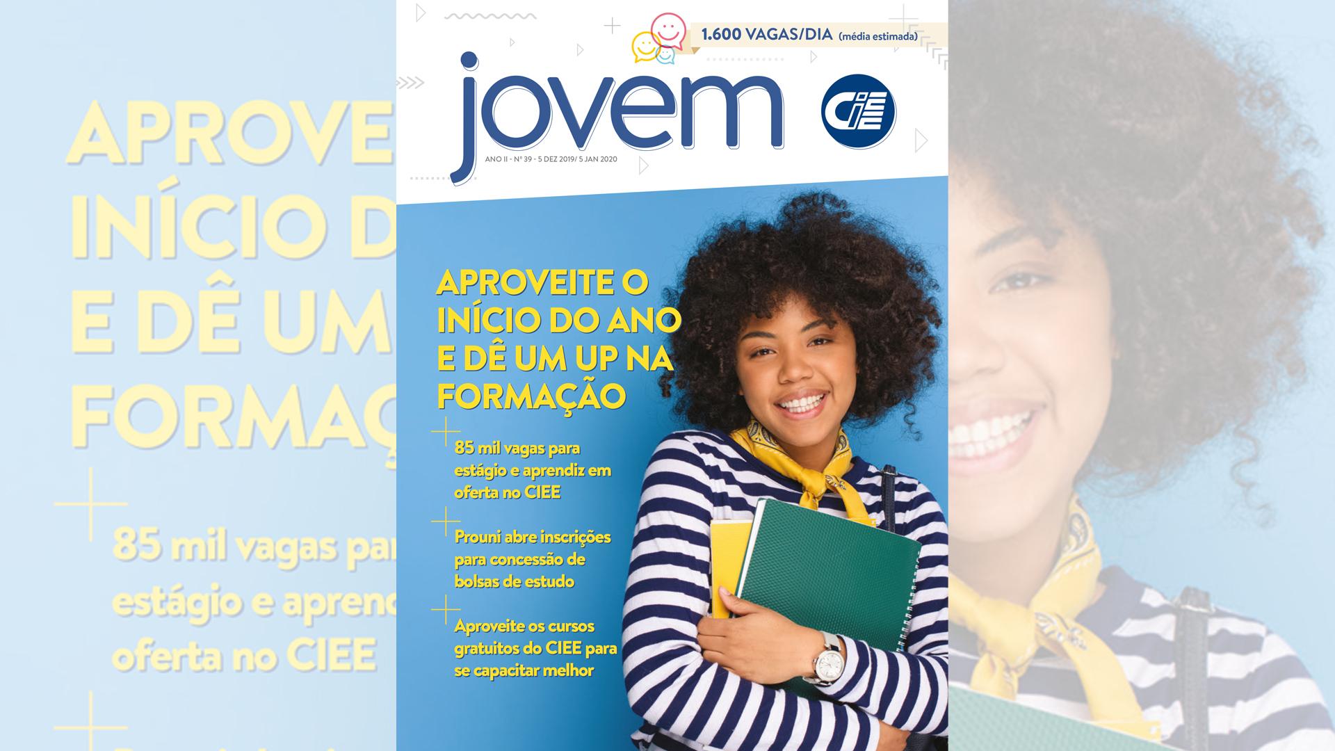 Capa da revista Jovem CIEE 39