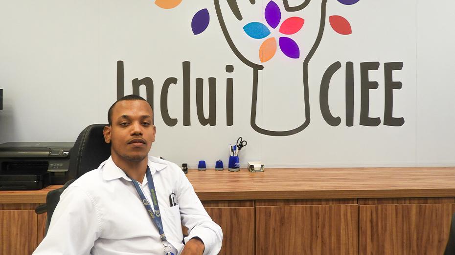 Silas Souza, colaborador Inclui CIEE