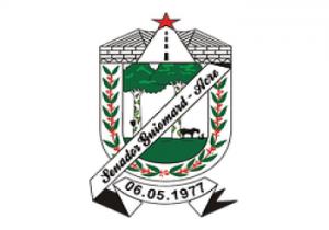brasão da prefeitura Municipal de Senador Guiomard