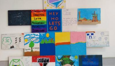 Ao longo do ano, conviventes participaram de atividades que abordaram o sentido da palavra identidade, entre outros temas