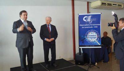 Rodrigo Maia participa de evento do CIEE em Brasília