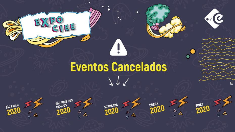 Cancelamento - Expo CIEE 2020