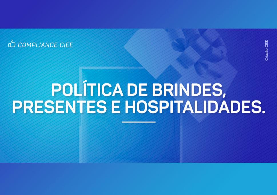 Política de brindes, presentes e hospitalidades