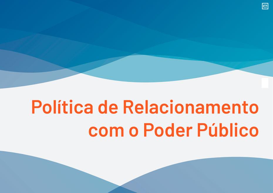 Política de Relacionamento com o Poder Público