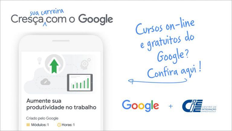 Sua carreira: cresça com o Google - Cursos on-line e gratuitos do Google? Confira aqui!