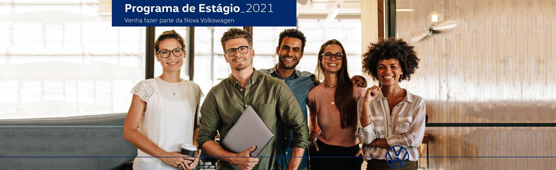 Programa de Estágio 2021 - Venha fazer parte da Nova Volkswagen
