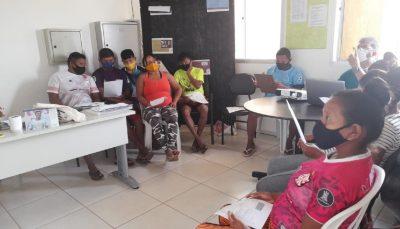 Indígenas da etnia Warao participam de atividade em Brasília