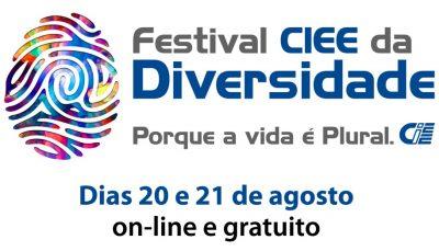 Logo do Festival CIEE da Diversidade
